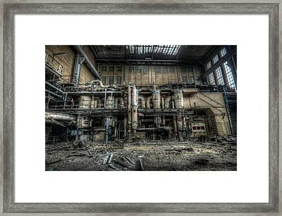Inside Power Framed Print by Nathan Wright