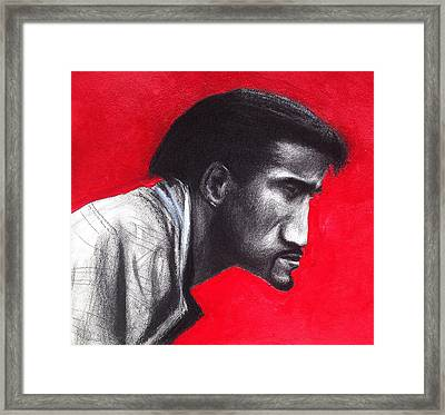 Inside Sammy Davis Framed Print