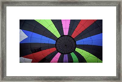 Inside The Balloon Framed Print