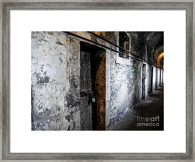 Inside The Dark Framed Print