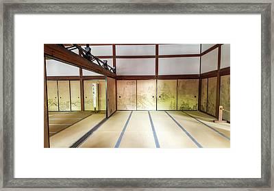 Inside The Dojo Framed Print by Mason Born