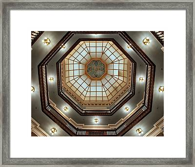 Inside The Dome Framed Print