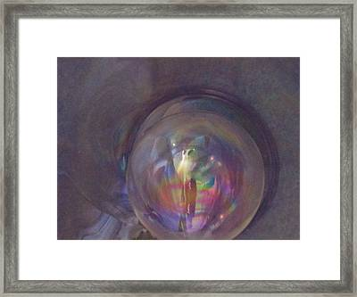 Inside The Fifth Dimension Framed Print