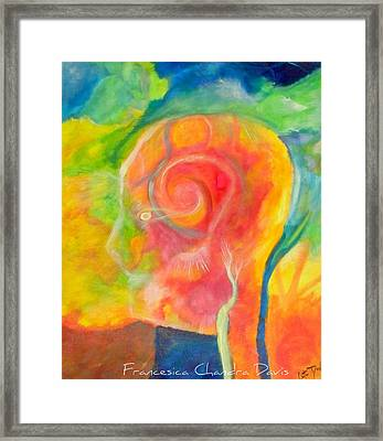 Inside The Functional Framed Print by Sacred  Muse