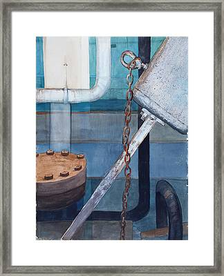 Inside The Power Plant 1 Framed Print by Vickie Myers