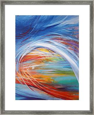 Inside The Rainbow Framed Print