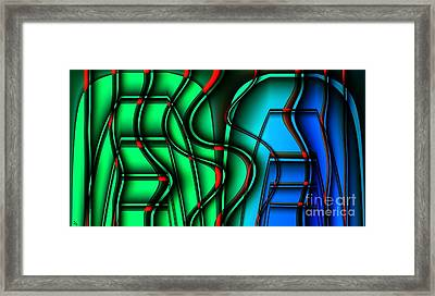 Inside The Toaster Framed Print by Ron Bissett