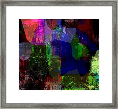 Inside The Visual Brain Framed Print