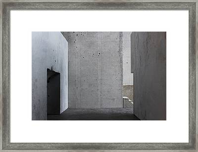 Inside The Walls 1 Framed Print by David Umemoto