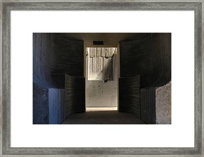 Inside The Walls 4 Framed Print by David Umemoto