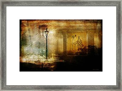 Inside Where It's Warm Framed Print by Bellesouth Studio