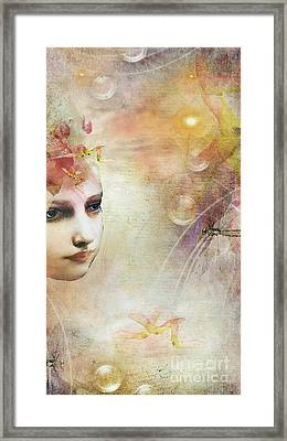 I.n.s.i.g.h.t Framed Print by Monique Hierck