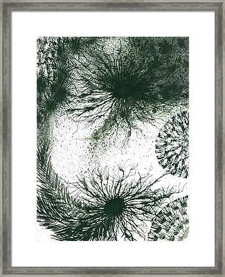 Insights From The Infinite Intelligence #659 Framed Print by Rainbow Artist Orlando L aka Kevin Orlando Lau