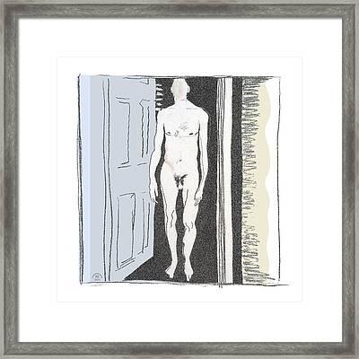 Insomnia 1 Framed Print by Stan Magnan