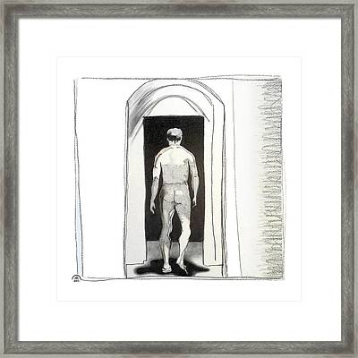Insomnia 3 Framed Print by Stan Magnan