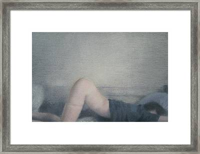 Insomnia-anxiety Framed Print