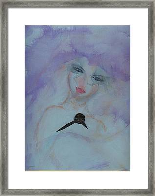 Insomnia Framed Print by Cathy Minerva