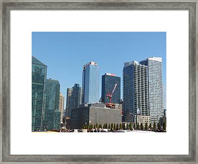 Insomnia City Framed Print