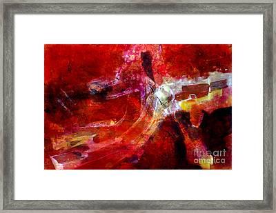 Inspiration 002 Framed Print by Donna Frost