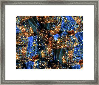 Framed Print featuring the digital art Inspiration #6102 by Barbara Tristan