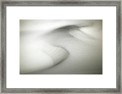Inspiration Comes Standard Framed Print