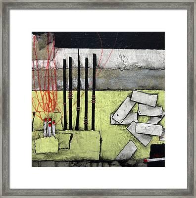 Inspiration-fire Framed Print by Laura Lein-Svencner
