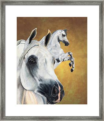 Inspiration Framed Print by Kristen Wesch