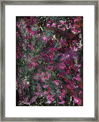 Inspiration Never Visits The Lazy Framed Print by Antonio Ortiz