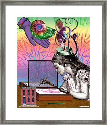 Inspiration Of A Dreamer Framed Print by Eric Edelman
