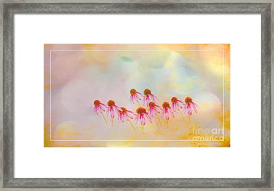Inspiration Of Spring Framed Print by Beverly Guilliams