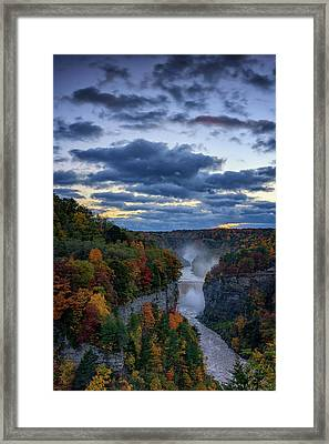 Inspiration Point Framed Print by Rick Berk