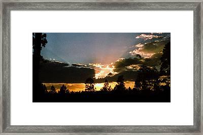 Inspiration Sunset Framed Print