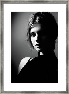 Inspiration Framed Print by Vlada Migas