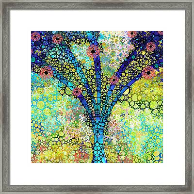 Inspirational Art - Absolute Joy - Sharon Cummings Framed Print