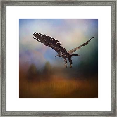 Inspirational Art - Colors Of The Wind Framed Print by Jordan Blackstone