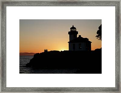 Inspirational Moments Just You And Me Framed Print