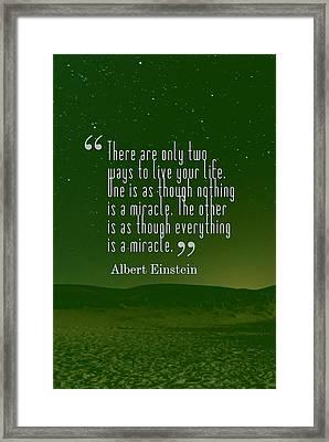 Inspirational Quotes - Motivational - 131 Framed Print