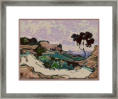 inspired by Andre Derain 9 Framed Print by Pemaro