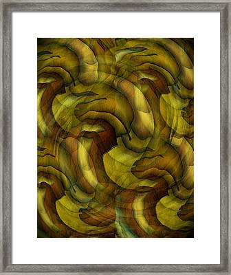 Inspired By Dali Framed Print by Terry Mulligan
