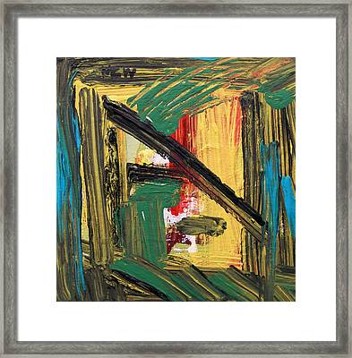 Inspired By Jazz Tuesday Framed Print by Mary Carol Williams