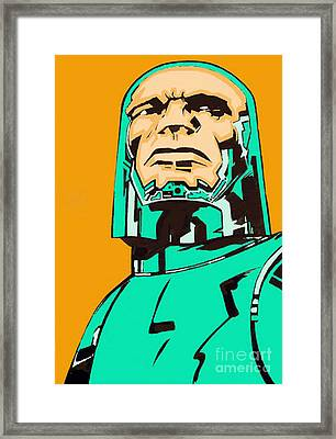 Inspired By Kirby Framed Print by George Penon Cassallo
