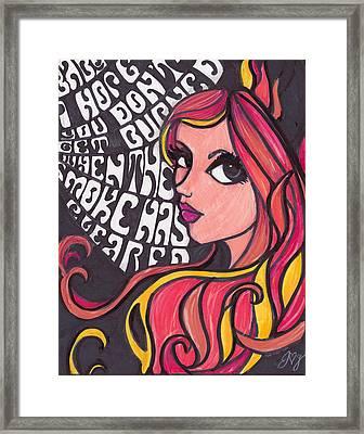 Althea Framed Print by Jennifer  Love-Gironda