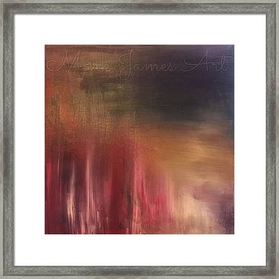 Inspired Framed Print by Mark James