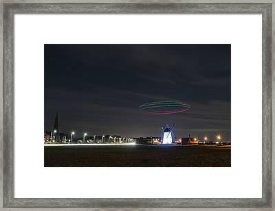 Inspired Windmill  Framed Print