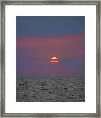 Inspiring Glow Framed Print