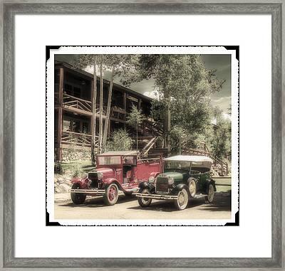 Instamatic Glossy Framed Print