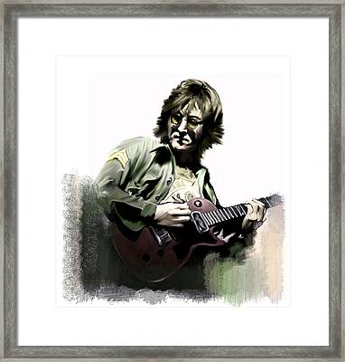 Instant Karma  John Lennon Framed Print