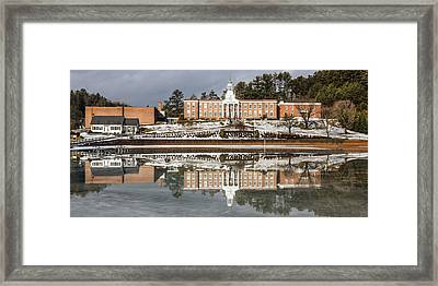 Institute Relections Framed Print