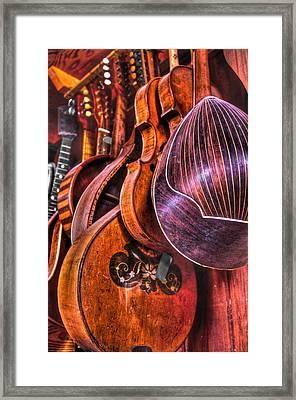 Instrumenti Framed Print by Frank SantAgata