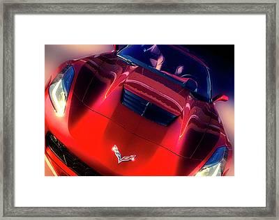 Intake Framed Print by Larry Helms